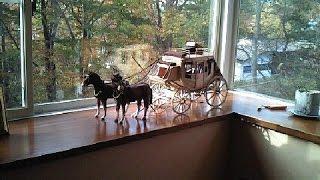アメリカンフロンティアのシンボル駅馬車製作記 (Building the stagecoach)