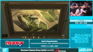 Deus Ex: Human Revolution by Heinki in 49:27 - Summer Games Done Quick 2015 - Part 86