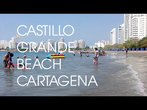 Castillo Grande Beach Cartagena Colombia