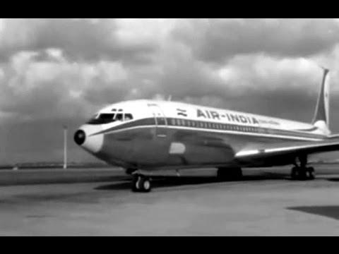 "Air India Boeing 707-337B - ""Arrival Amsterdam"" - 4/1/69"