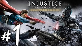 Injustice : Gods Among Us - Parte 1: Colisão de Universos!!! [ PC - Playthrough ]