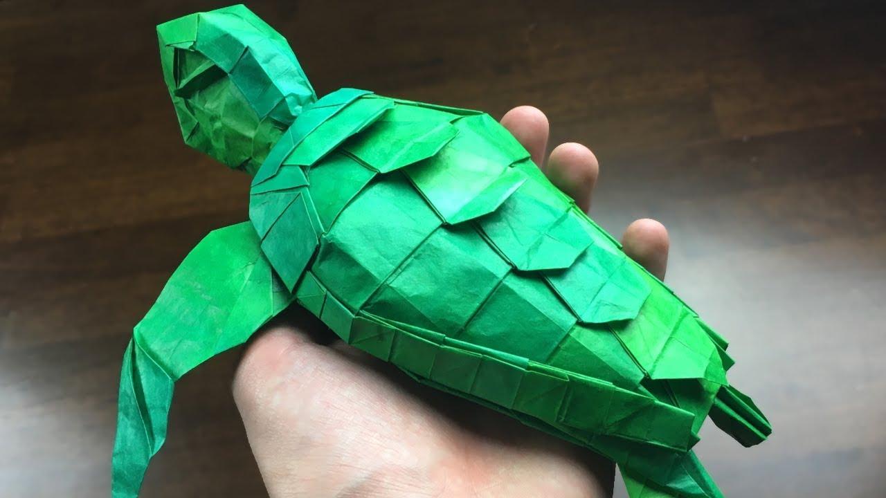 Origami Turtle Instructions Youtube | Origami turtle, Origami frog ... | 720x1280