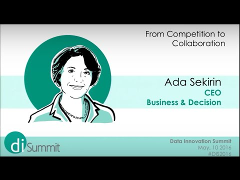 #DIS2016 - Ada Sekirin - From competing to collaboration