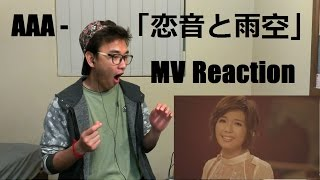 AAA -「恋音と雨空」Sounds of Love under the Rainy Sky MV Reaction (New Format)