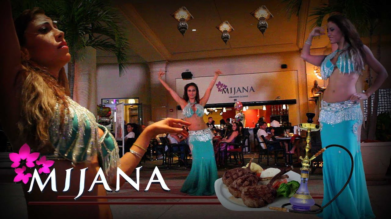 Mijana Lebanese Cuisine Restaurant In Gulfstream Park At Hallandale Beach Florida