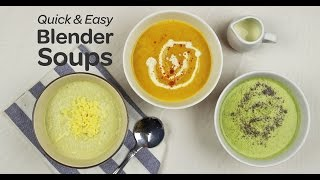 Quick and Easy Blender Soups | Yummy Ph