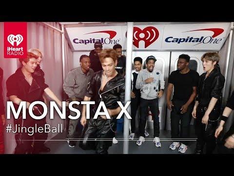 Monsta X Takes Their Insane Dance Moves To NYC Subways