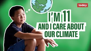 11-year-old environmentalist speaks out about climate change