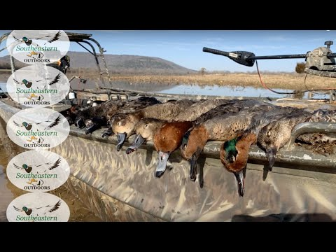 Alabama Waterfowl Hunting - Clay Pit Hunting Club Last Weekend 2019