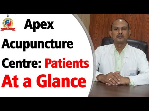 Apex acupuncture center: patients at a glance