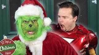 The GRINCH vs AVENGERS!!! Hilarious Christmas paro...