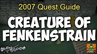 Creature of Fenkenstrain Quest Guide 2007