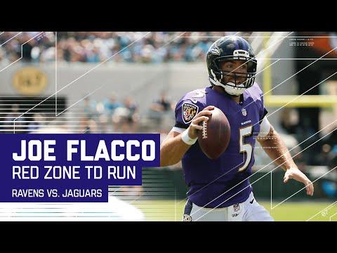 Mike Wallace & Steve Smith Catches Set Up Joe Flacco TD Scramble! | Ravens vs. Jaguars | NFL
