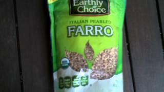 Great Alternative To Pasta And Rice  Italian Farro Returns!