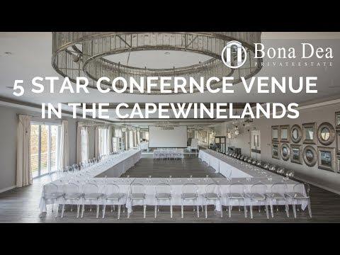 Conference Venue Cape Town Wine Lands Bona Dea Private Estate