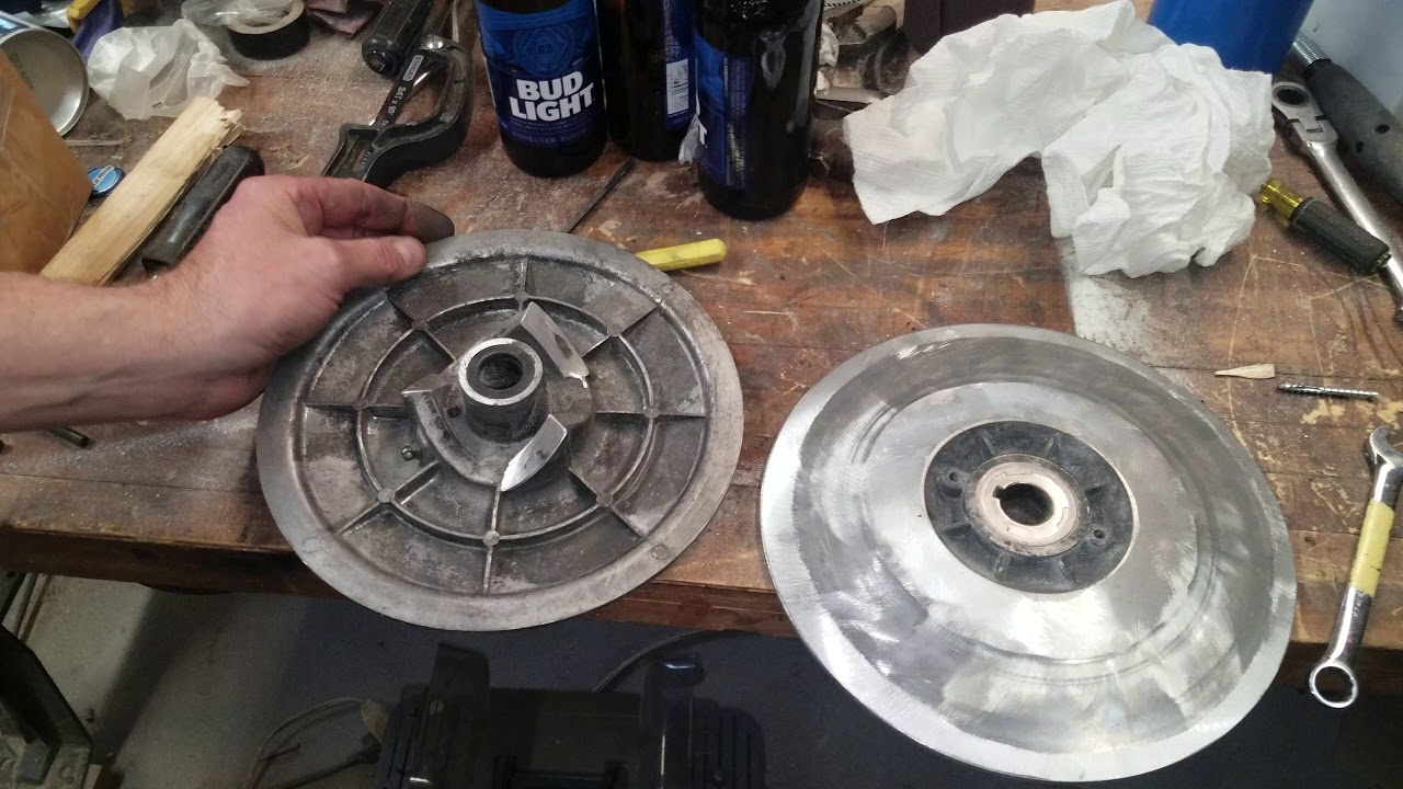 small resolution of recondition secondary clutch yamaha g16 and reusing flipping ramps