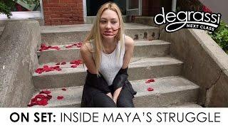 Degrassi On Set: Inside Maya's Stuggle