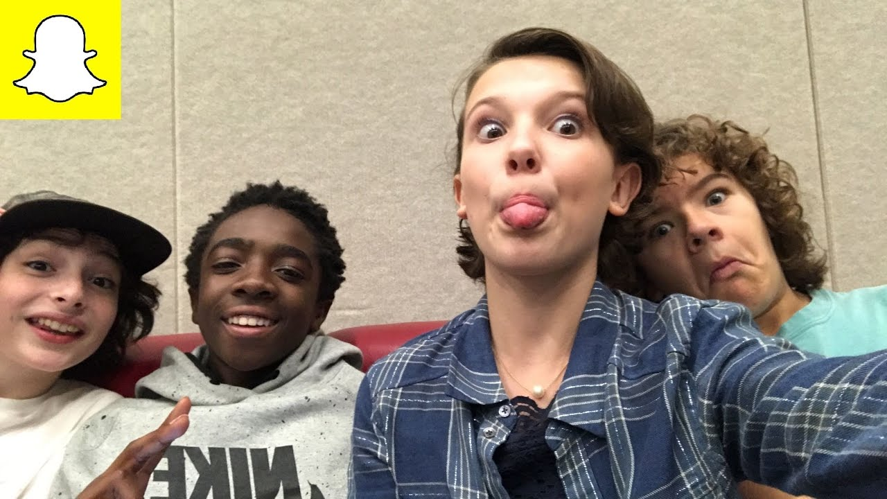 millie bobby brown and gaten matarazzo. millie bobby brown backstage with the boys @ spooky empire day 2 + bonus clip from her panel - youtube and gaten matarazzo p