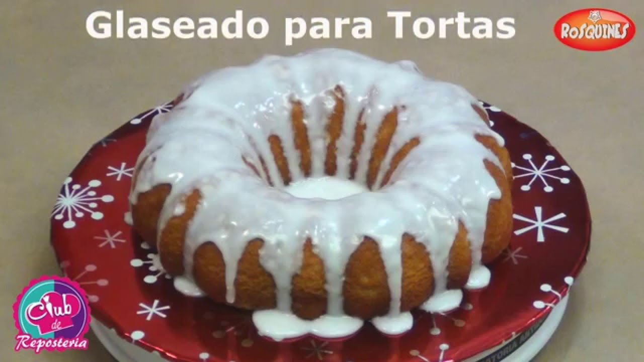 C mo hacer un glaseado para tortas youtube for Decoracion espejo en tortas