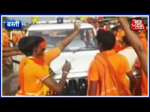 Kawariyas Attack District Judge And SDM In UP