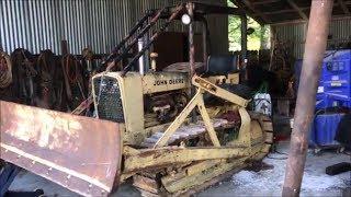 John Deere 1010 Dozer - Antique Tractor