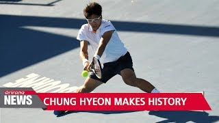Korean tennis star Chung Hyeon breaks record by beating world no. 4 at Australian Open