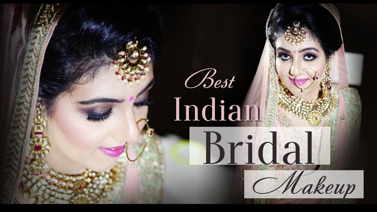 Best Indian Bridal Makeup | Smokey Eyes Makeup for Wedding | Krushhh by Konica - YouTube