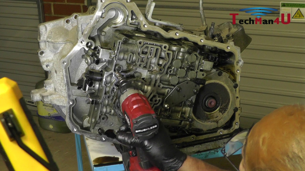 hight resolution of volvo xc90 4t65e automatic transmission disassembly