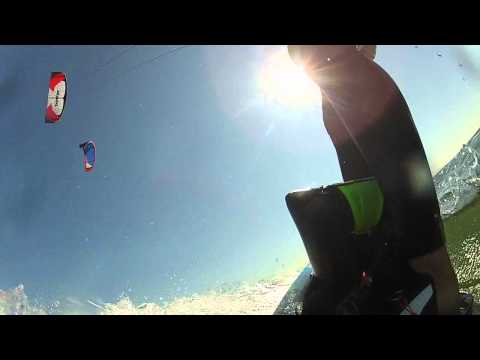 Kiting at Jetty Island