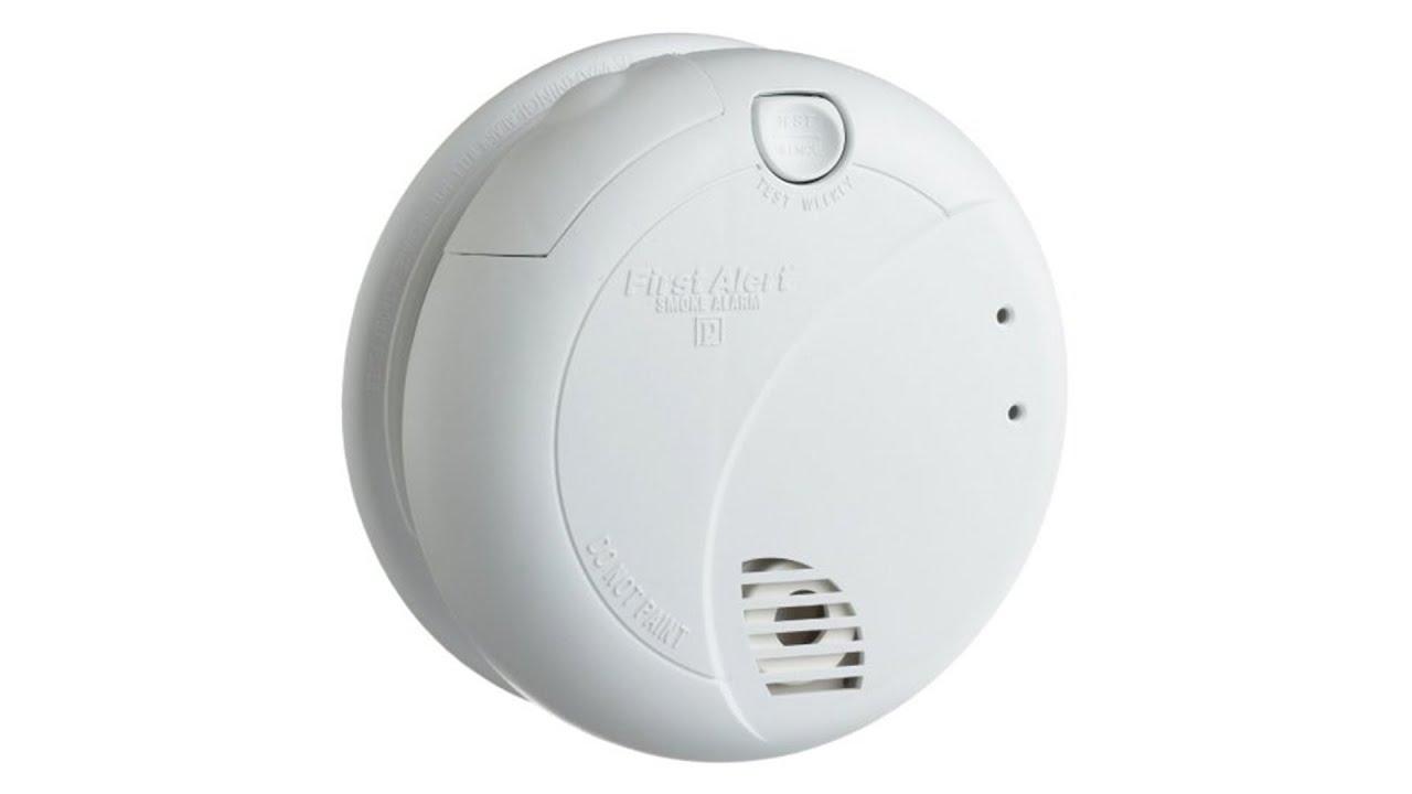 Smoke Alarm Detector First Alert BRK 7010B Hardwire with Photoelectric Sensor