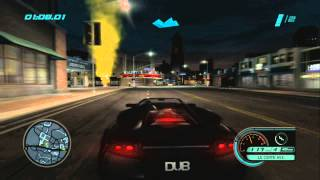 Midnight Club L.A. City Race Lamborghini | PlayStation 3 Online