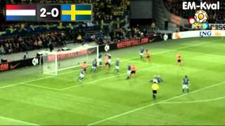 RadioSporten | Holland - Sverige (4-1) Highlights