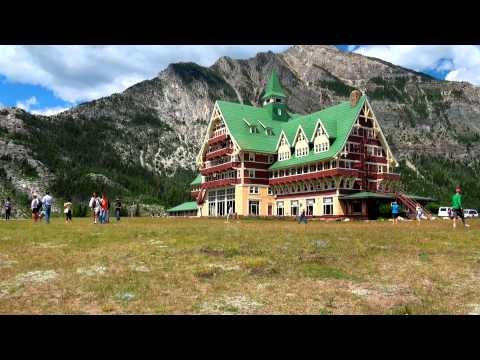 Prince of wallesHotel on the lHill in Waterton National Park of South Alberta.