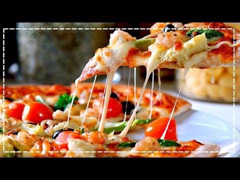 рецепт пиццы тонкое тесто в домашних условиях в духовке