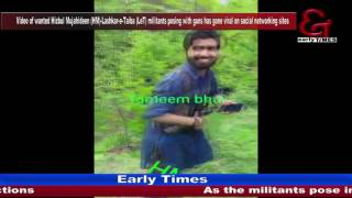 Wanted HM-LeT militant video goes viral on social  media