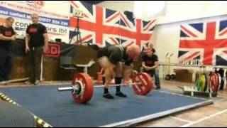 2013 British Champs 242.5 Deadlift.