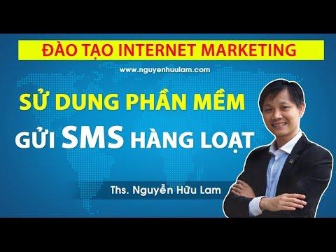 Hướng dẫn sử dụng phần mềm gửi tin nhắn SMS hàng loạt