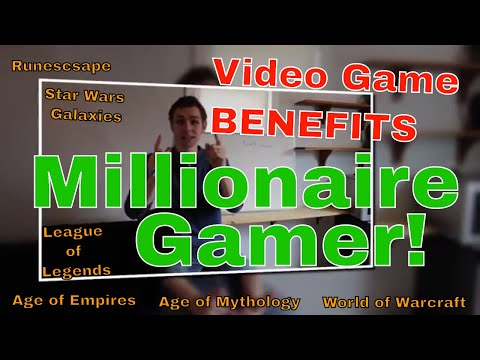 Meet the Millionaire Gamer - Exploit the Benefits of Gaming!