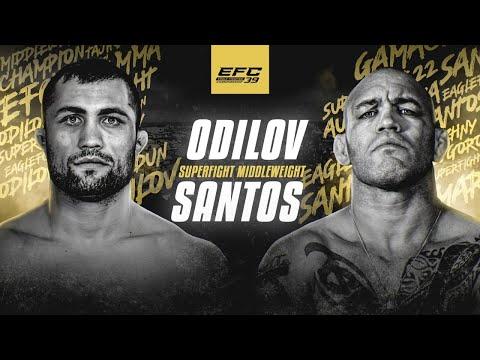 EFC 39: 🇹🇯 Фаридун Одилов vs 🇧🇷 Марсио Сантос