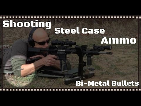 Steel Cased Ammo In An AR-15, AK-47, And Handguns: Is It Dangerous?