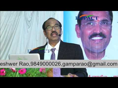 Belief by Dr BV Pattabhiram at IMPACT Kamareddy  2017