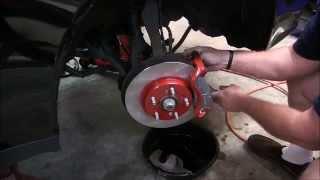 How To: Custom Brake Job with Painted Calipers