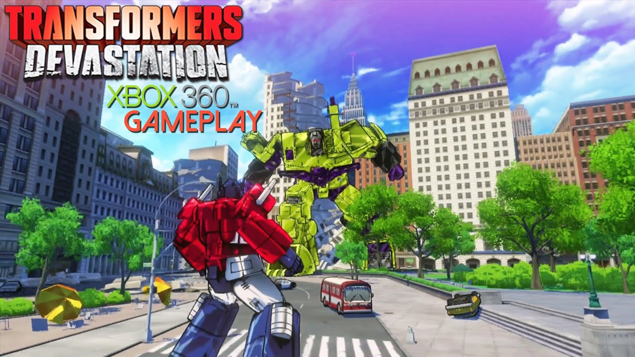 Transformers devastation gameplay xbox hd youtube