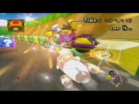 Mario Kart Wii - Invincibility Star & Mega Mushroom Music Change! (BRSAR Editing)