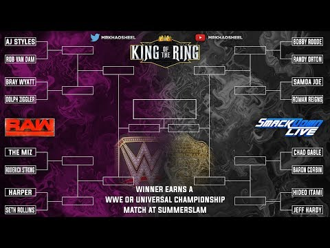 WWE 2K18  - Universe Mode - King of the Ring PPV