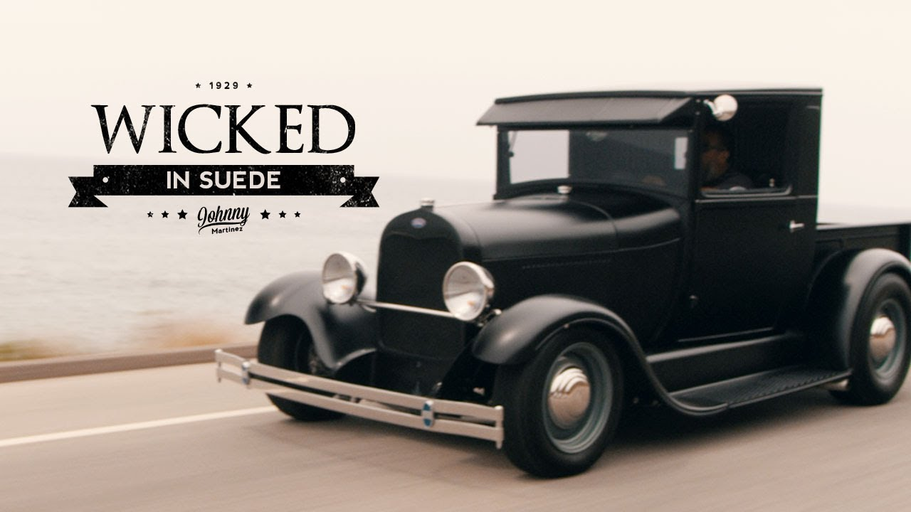Johnny Martinez: Wicked in Suede - 1929 Ford Model A Hot Rod Pickup ...