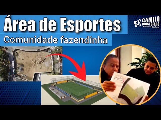 Novo espaço de esporte da Vila Brasilina • Camilo Cristófaro