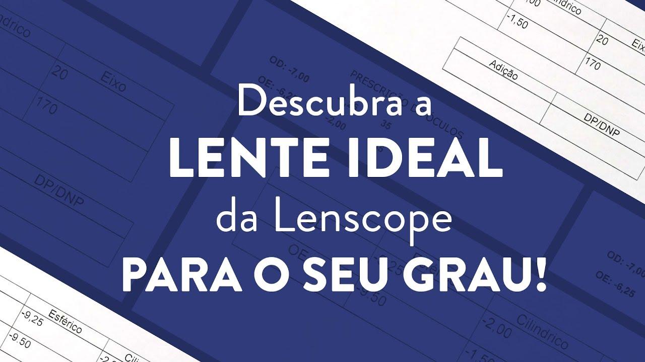 5062cdb13 Como escolher as lentes Lenscope certa para cada tipo de grau?   Lenscope