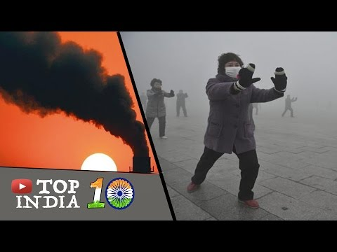 Top 10 Most Polluted Cities in India    Top10INDIA