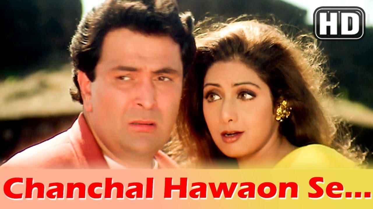 Download Chanchal Hawaon Se...Hakka Yella Ye (HD) - Kaun Sachcha Kaun Jhootha Song - Sridevi - Rishi Kapoor